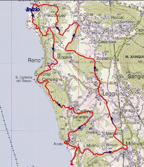 Cartina Lago Maggiore Stradale.Santa Caterina Del Sasso